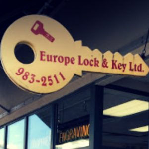 Europe Lock Key